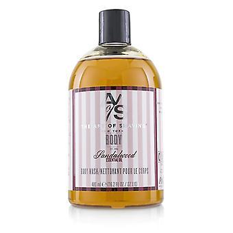 Kunsten at barbering Body Wash - sandeltræ æteriske olie - 480ml/16,2 oz