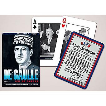 De Gaulle Set Of Playing Cards + Jokers