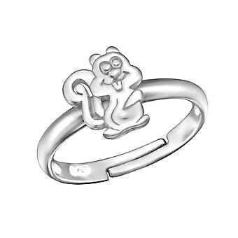 Squirrel - 925 Sterling Silver Rings - W28099x