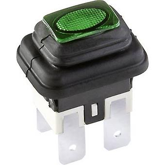 interBär 3658-250.22 Pushbutton switch 250 V 16 A 1 x Off/On IP65 momentary 1 pc(s)
