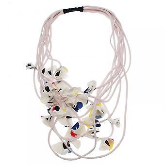 Crea Concept String Petals Layered Necklace