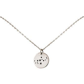 Sterrenbeeld ketting Horoscoop Maagd Maagd Maagd 925 zilver, verguld, Rose