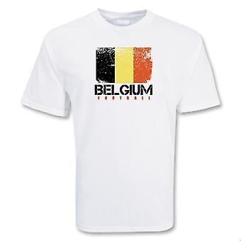 Belgia fotball t-skjorte