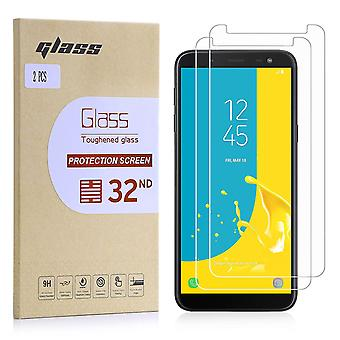 Extra Armoured Tempered Glass for Samsung Galaxy J6 (2018) - 2 Pack