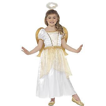 Angel prinses kostuum, grote leeftijd 10-12
