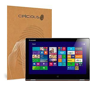 Celicious Vivid Invisible Glossy HD Screen Protector Film Compatible with Lenovo Yoga 2 Pro [Pack of 2]