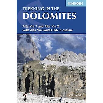 Trekking in the Dolomites (4th Revised edition) by Gillian Price - 97