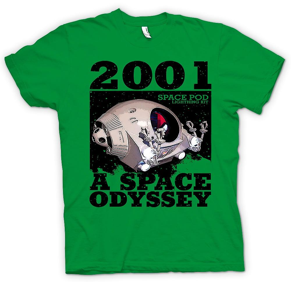 Mens T-shirt - 2001-Space Odyssey - Space Pod