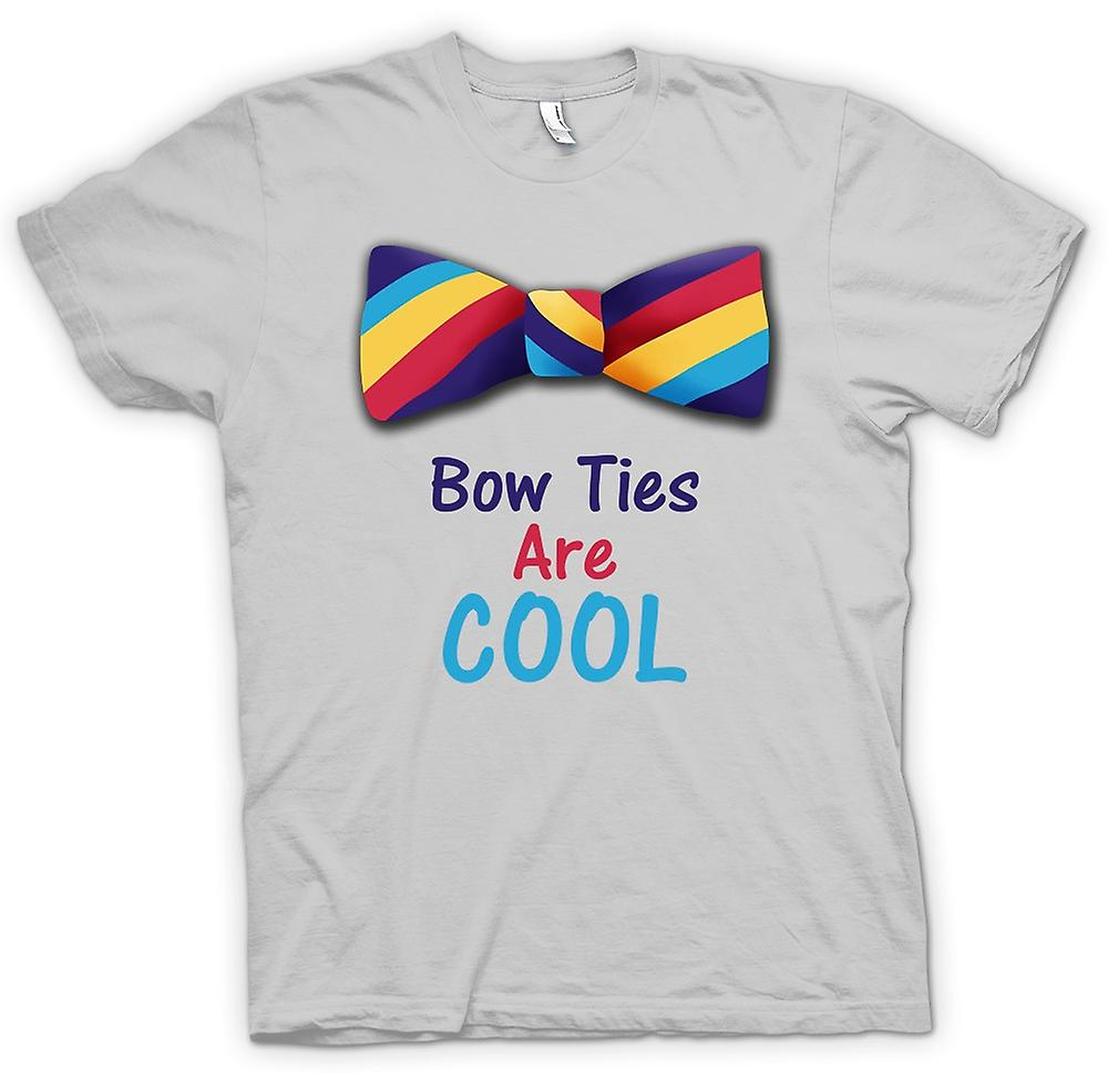 Mens T-shirt - Bow Ties Are Cool Funny