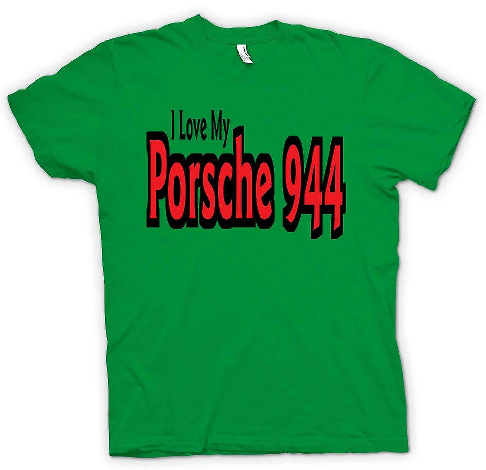 Mens T-shirt - I Love My Porsche 944 - Car Enthusiast