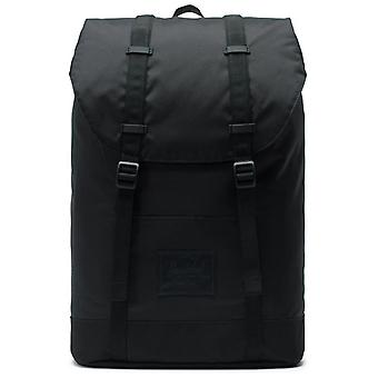 Herschel Black Retreat Light - 19.5 Inch Laptop Backpack