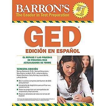 Examen de Equivalencia de la Escuela Superior, sv Espanol: Barron's GED, spanska Edition