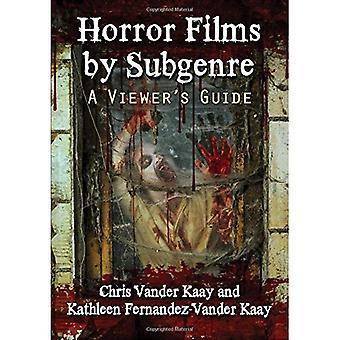 Horrorfilms door Subgenre: van een kijker gids