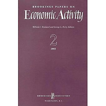 Brookings Papers on Economic Activity 2:2003: v. 2