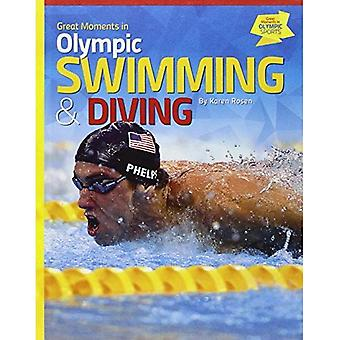 Great Moments in Olympic Swimming & Diving (Great Moments in Olympic Sports)