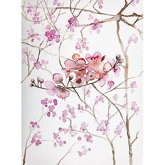 Cherry Blossoms Poster Print by Andrea Bijou