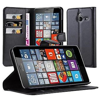 Cadorabo Case for Nokia Lumia 640 XL - Phone Case with Magnetic Closure, Stand Function and Card Case Compartment - Case Cover Case Case Case Case Book Folding Style