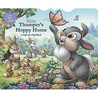 Disney kaninerna Stampe Hoppy Home: A Lift-The-Flap Board Book [styrelse bok]
