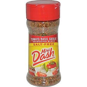 Fru Dash tomater basilikum hvitløk Salt uten krydder blanding 2 flaske Pack