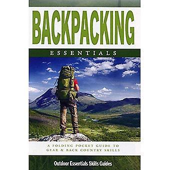Backpacken Essentials: Een waterdichte vouwen Pocket Guide to Gear & terug land vaardigheden (buiten Essentials vaardigheden gids)