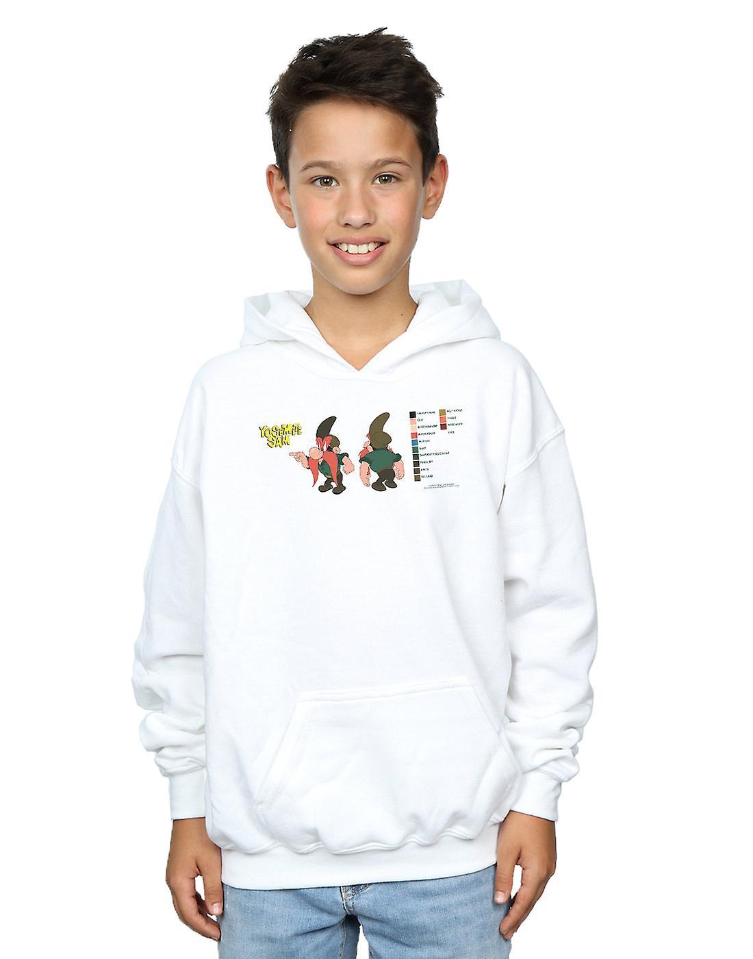 Looney Tunes Boys Yosemite Sam Colour Code Hoodie