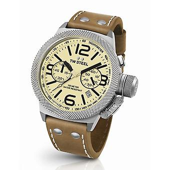 Tw Steel Cs13 Canteen Chronograaf Heren Horloge 45mm