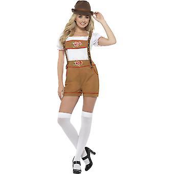 Sexy Beierse bier meisje kostuum
