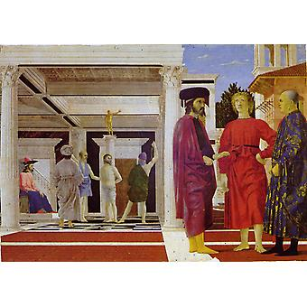 The Flagellation of Jesus, Piero della Francesca, 60x43cm