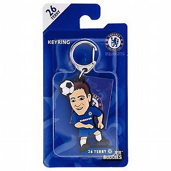 Chelsea Officially Licensed Soccer Buddies PVC Football Keyring - John Terry