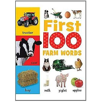 First 100 Farm Words by Sarah Creese - 9781848795679 Book