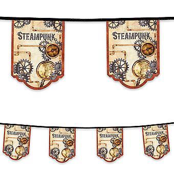 4 Metre Steampunk Bunting Victorian