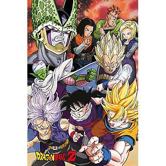 Dragon Ball Z Saga di Cell Maxi Poster 61x91.5cm