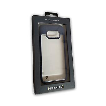Granite UV Coated Hybrid Slim Mono Case for Samsung Galaxy S8 Plus - Clear/Blue