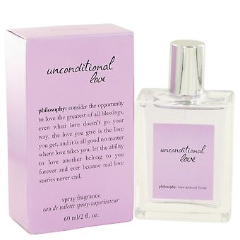 Unconditional Love by Philosophy Eau De Toilette Spray 2 oz / 60 ml (Women)