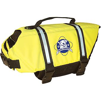 Pfoten an Bord Doggy Schwimmweste Medium-Safety Neon Gelb M1400-1400