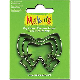 Makin's Clay Cutters 3 Pkg Ribbon M360 227