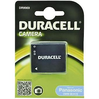 Camera rechargeable battery Duracell replaces original battery DMW-BCK7 3.6 V 630 mAh