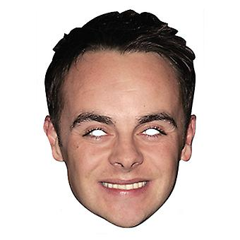 Ant McPartlin Celebrity Card Party Face Mask