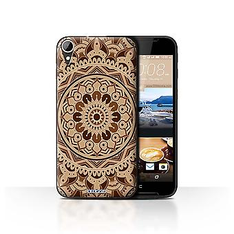 STUFF4 Case/Cover voor HTC Desire 830/Dream/Sepia/Mandala kunst