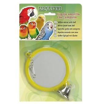 Arquivet Yellow Mirror With Bell 10,5X9X1 Cm