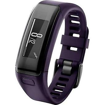 Fitness tracker with integrated hear rate monitor Garmin vivosmart® HR Standard Purple Display, Heart rate monitor