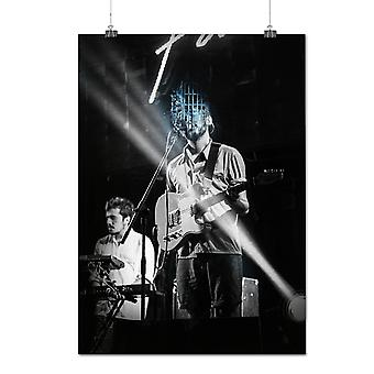 Matte or Glossy Poster with Concert Guitar Rock Music Music Concert | Wellcoda | *q1053