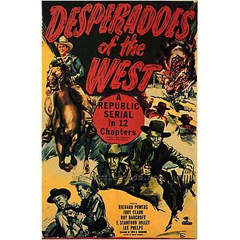 Desperados von West-Film-Plakat-Druck (27 x 40)