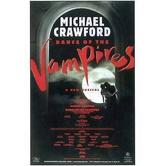 Danza de lo vampiros (Broadway) Movie Poster (11 x 17)