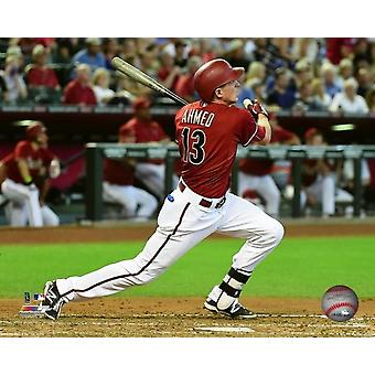 Nick Ahmed 2015 Action Photo Print
