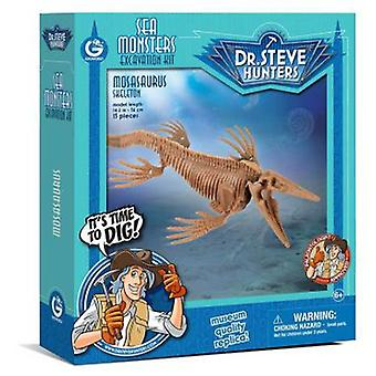 Geoworld Sea Monsters excav. Kit - Mosasaurus