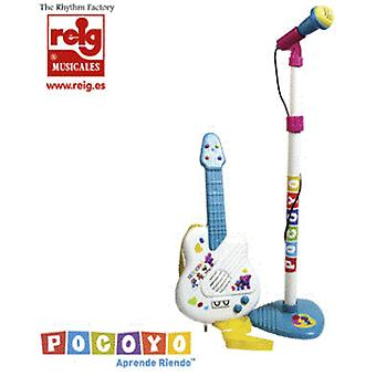 Reig Micro and guitar Pocoyo (children, toys, electronic and Multimedia, musical)