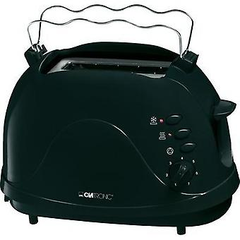 Toaster with built-in home baking attachment Clatronic TA3565 schwarz Black