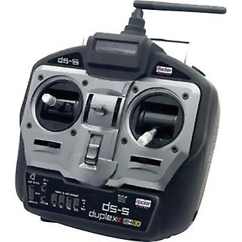 Hacker DS-5 Mode2 Handheld RC 2,4 GHz No. of channels: 5