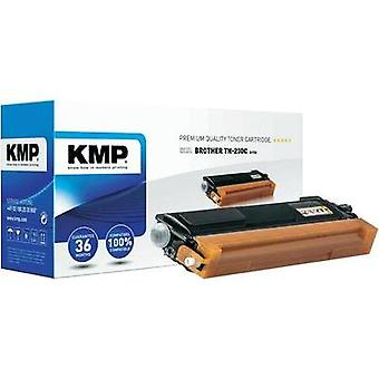 KMP Toner cartridge replaced Brother TN-230C Compatible Cyan 1400 pages B-T33